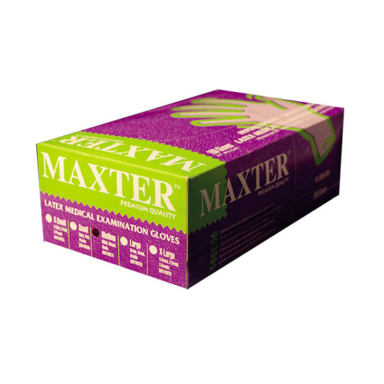 Maxter Latex Examination Glove